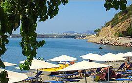 Agia Galini: Am Strand