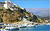 Agia Galini: Hafen und Ida-Gebirge